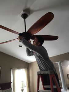 mike ceiling fan